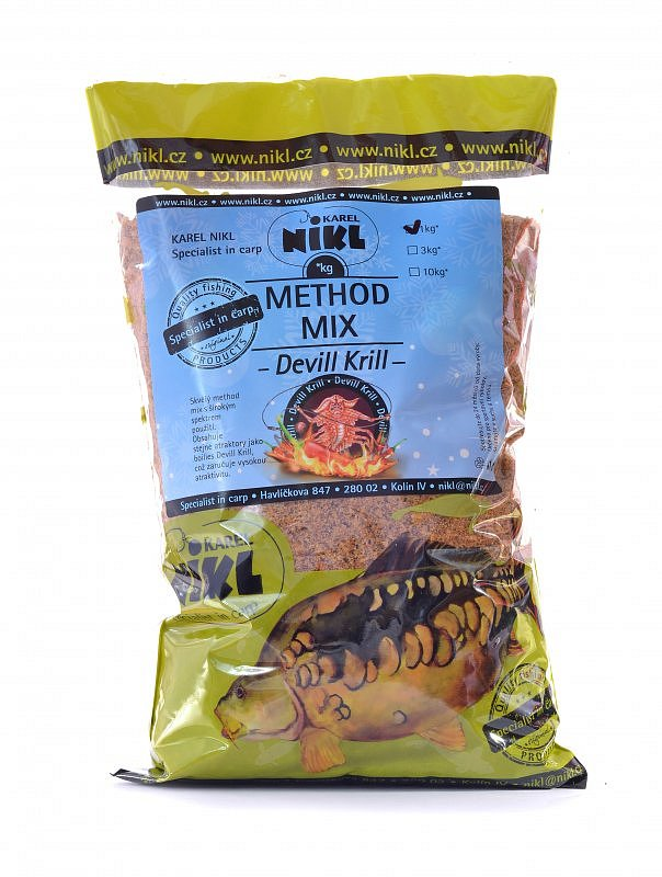 Method Mix Devill Krill 1 kg
