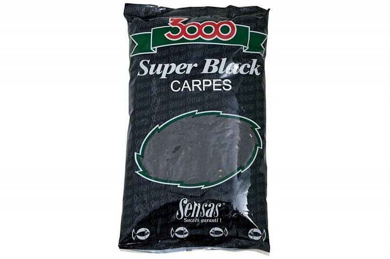 Krmivo 3000 Super Black Carpes 1kg