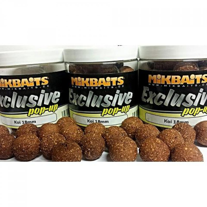 Mikbaits Exclusive Pop Up 250ml 18mm Koi