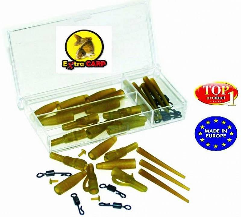 Extra Carp Montáž Lead Clip With Quick Change Set 5x10ks