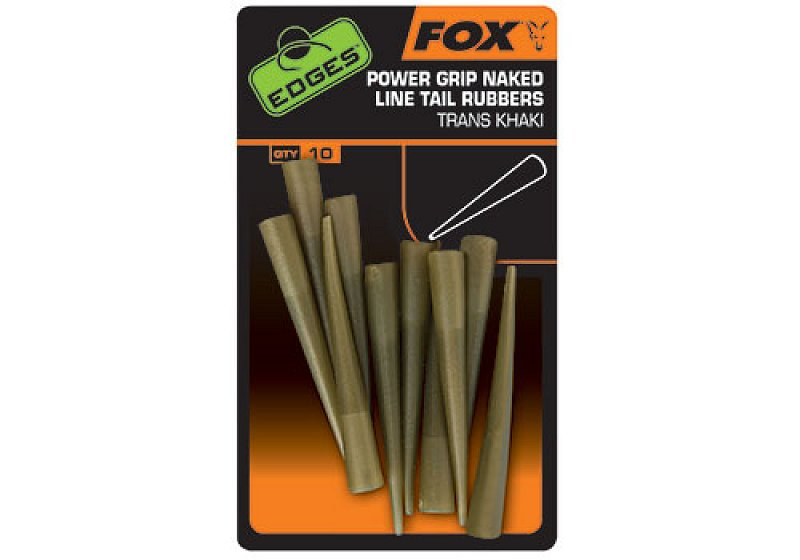 Fox Prevleky EDGES Power Grip Naked Line Tail Rubbers