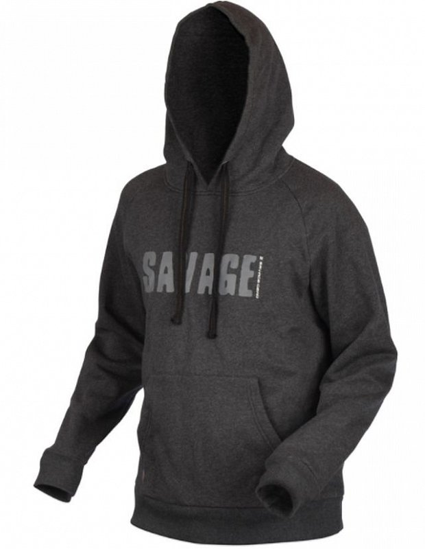 Savage Gear Mikina Simply Savage Zip Hoodie XL