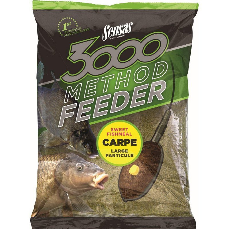 Krmivo 3000 Method Feeder Sweet Fishmeal 1kg