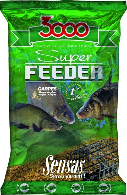 SENSAS Krmivo 3000 Super Feeder 1kg Carp