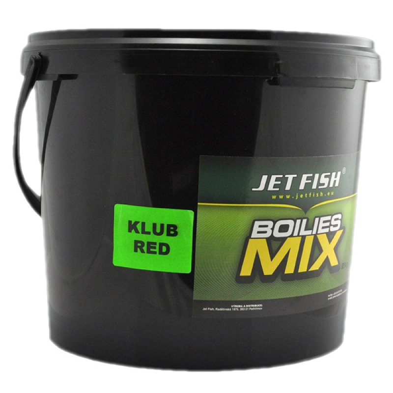 Boilie mix Klub Red 2kg